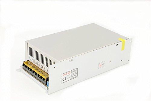 LianShi Universal Schaltnetzteil geregelter Transformator Kurzschluss und Überstromschutz AC100-260V DC12V 2A-50A 50a Steckdose