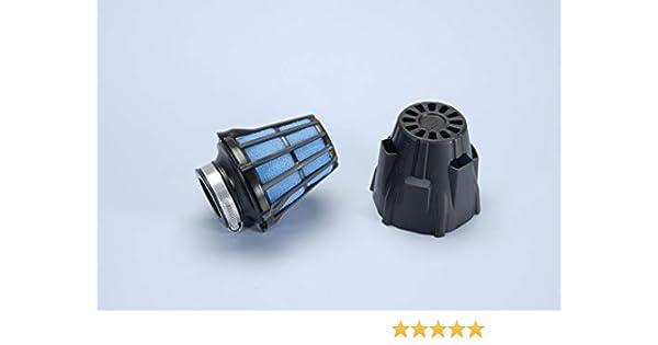 Air Box Polini Cromato Blu inclinato 30 imbocco D.32