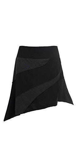 Coline - Jupe asymétrique Noir