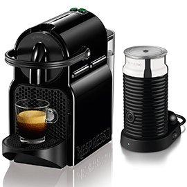 Magimix Nespresso Inissia+Aeroccino 3 - 11360 in Black Best Price and Cheapest