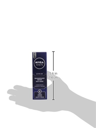 Nivea Men Active Age Crema Hidratante de Noche Antiarrugas – 50 ml