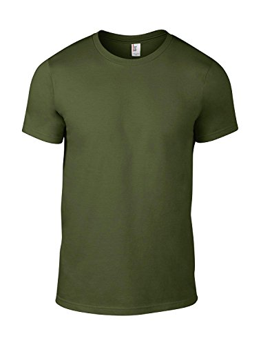 anvil Herren Fashion Basic Tee / 980 City Green