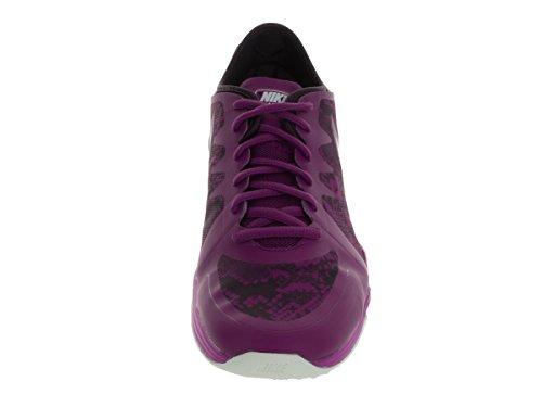 Nike Damen W Dual Fusion TR 3 Print Gymnastikschuhe Morado (Purple Dusk / White-Noble Purple)