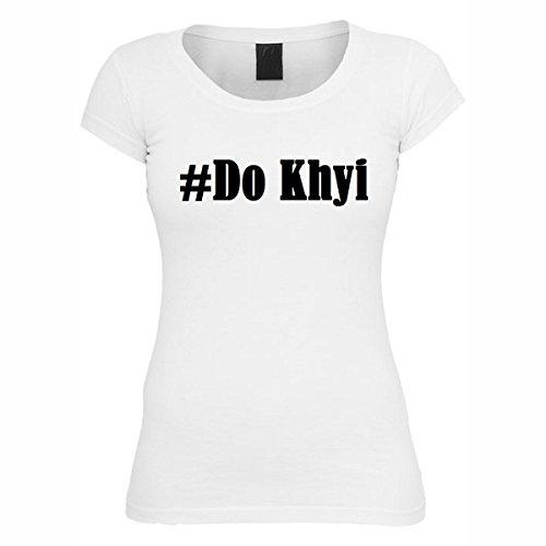 T-Shirt #Do Khyi Hashtag Raute für Damen Herren und Kinder ... in den Farben Schwarz und Weiss Weiß