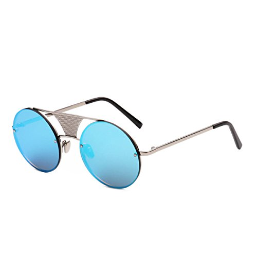 Europa Metall Hell Sonnenbrillen Damen-Sonnenbrille Wafer,A1