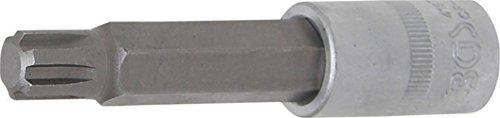 BGS 4167 Douille à embouts RIBE R13 x 100mm, Argent/gris