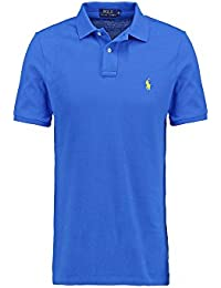 Ralph Lauren Poloshirt small pony, Custom Fit, Homme Multicolore - Large NEW