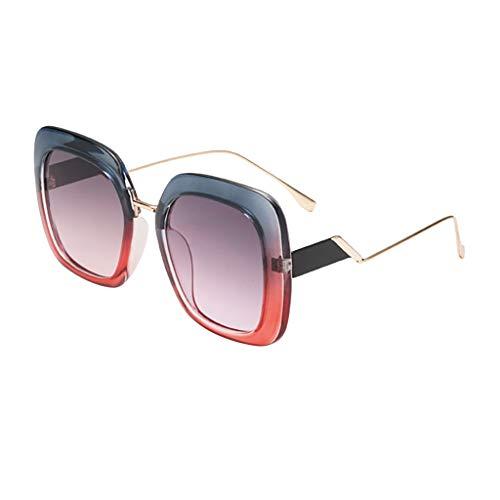 Makefortune 2019 Frauen Sonnenbrillen,Damen Männer Vintage Eye Retro Eyewear Fashion Strahlenschutz...