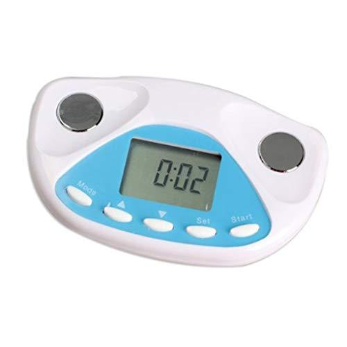 HDUFGJ Körperfettmessgerät Leichtgewicht Einfach zu bedienen