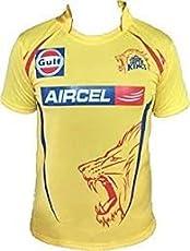 Combo - 1 CSK (Chennai Super Kings) T-Shirt & 1 CSK Cap for 16 - 20 years boy or Girl by Aaina ARFA.