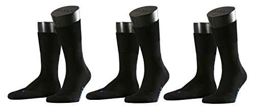 Falke Socken Run Ergo, Größe:46/48; Farbe:schwarz; Pack:3er Pack -