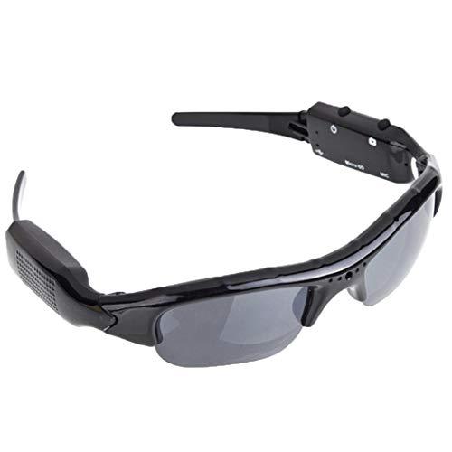 Kuerli Sonnenbrille Full HD mit Nascost Kamera für Fisch, Fahrrad, Jagd, Wandern