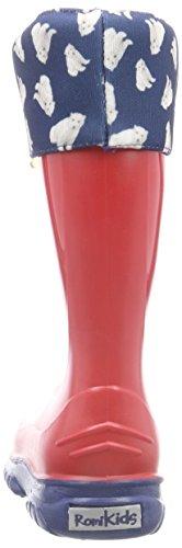 Romika Eisbär Unisex-Kinder Kurzschaft Gummistiefel Rot (rot 400)