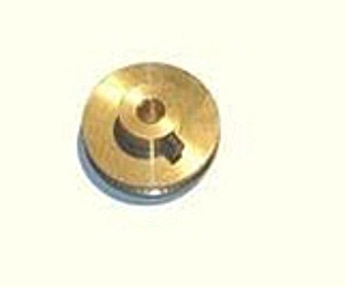 01631 - Wilesco ET - Schnurlaufrolle, messing blank, D=24 mm