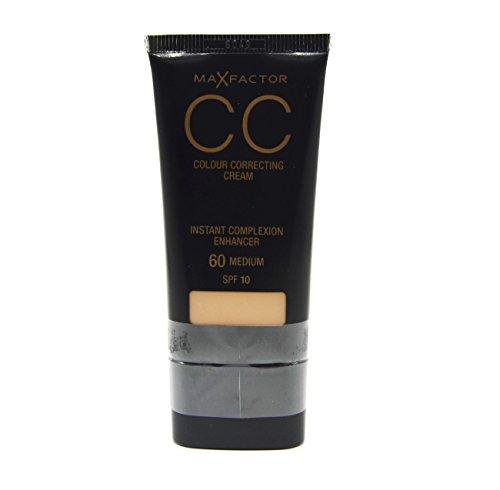 3 x Max Factor CC Colour Correcting Cream SPF10 30ml Sealed - 60 Medium (Natürlichen Spf10)