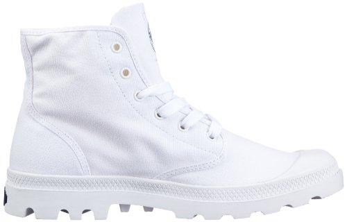 Palladium BLANC HI~WHITE/WHITE~M 72886-154-M Unisex-Erwachsene Bootschuhe Weiß (white 154)