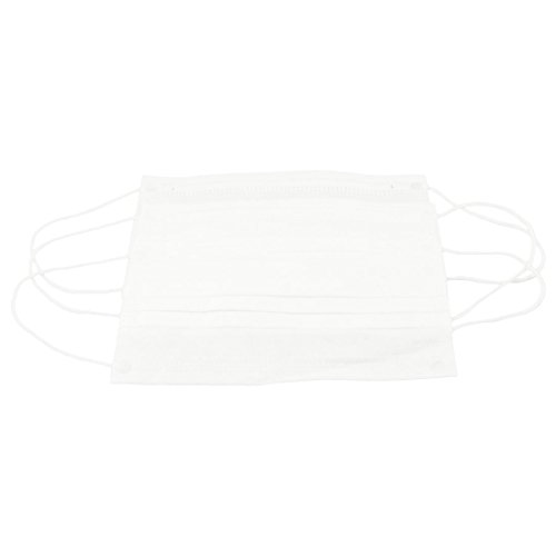 TOOGOO (R) 3 Stueck Arzt Mund Gesichtsvlies Baumwolle Gewebe Textil Masken - Weiss