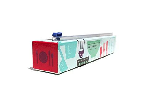 ChicWrap - Dispensador de papel de plástico recargable