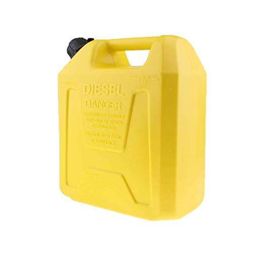 Tubayia 10L Tragbar Kraftstofftank Benzintank Benzin Gas Tank Kanister für SUV Motorrad Auto Fahrzeug (Boot Gas Tank Zubehör)