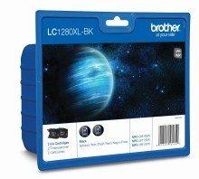 Preisvergleich Produktbild Brother 1280x LBKBP2DR Tinte Patrone–Black Schwarz Tintenpatrone (J6510DW MFC-J6710DW J6910DW)