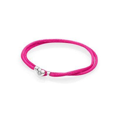 Armband Cord pink