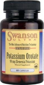 Swanson Ultra Potassium Orotate, 99mg, 60 Capsules from Swanson Health Products