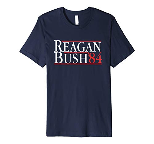 Herren The OFFICIAL Reagan Bush '84 T-Shirt For Men -
