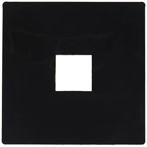 PLC Lighting TR137 BK Track One-Circuit Zubeh-r Beleuchtung Track Outlet Box Cover in Schwarz -