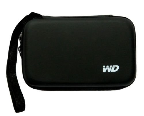"Hard Disk Drive Pouch case for 2.5"" HDD (Black)"