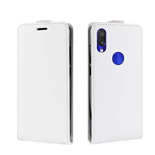 Funda® Flip Portafoglio Custodia per Xiaomi Redmi Note 7 (Bianca)