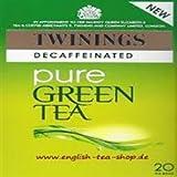 Twinings Green Tea Decaffeinated 20s 40g
