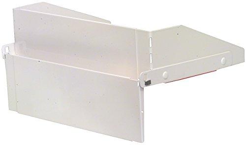 Electrolux cuisinière Garde pour Intégré (ajustement universel 40-75 cm) en métal Blanc
