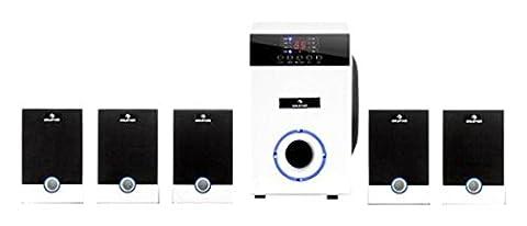Auna 5.1-JW 5.1 95W Weiß - Lautsprechersets