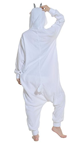 Imagen de dato ropa de dormir pijama cabra cosplay disfraz animal unisexo adulto alternativa