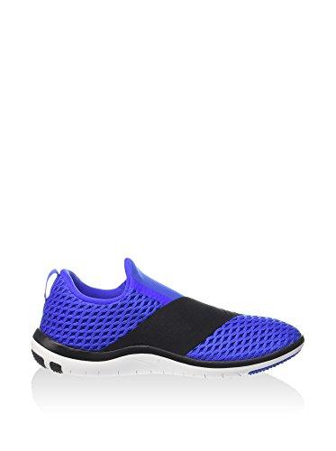 Nike Wmns Free Connect, Chaussures de Gymnastique Femme Bleu - Azul (Racer Blue / White-Black)