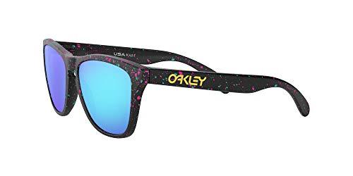Oakley Gafas de Sol FROGSKINS OO 9013 SPLATTER COLLECTION BLACK SPOTTED/PRIZM SAPPHIRE IRIDIUM unisex