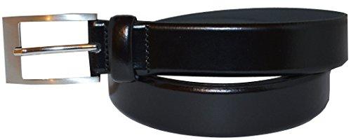 BOSS Hugo pour homme Adam 50129166 de ceinture en cuir Noir - Noir - 40W/105 cm EU