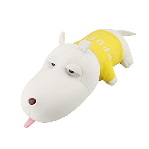 Vosarea Bolsa de carbón Activo de bambú de Perro muñeco Coche Que eliminador de olores para Coches armarios y Zonas de Mascotas (Amarillo)