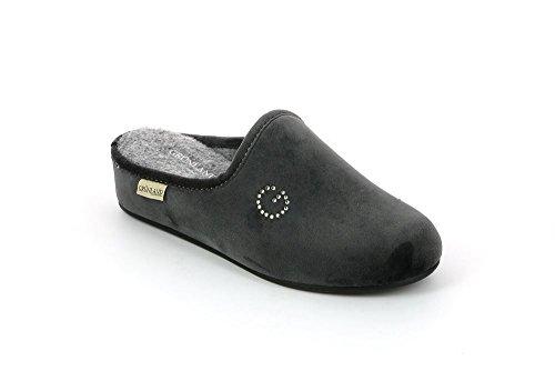 Grunland CI1068 Pantofola Donna Grigio