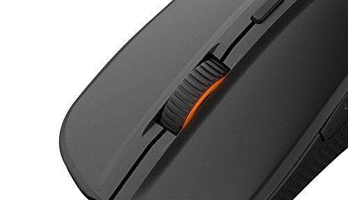 SteelSeries Rival 300 Optische Gaming-Maus (6 Tasten, Gummierte seitliche Griffflächen) schwarz - 8