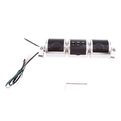 magideal Lautsprecher Motorrad Audio System MP3FM RADIO KIT DISPLAY LCD