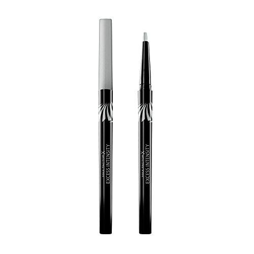 Max Factor Excess Intensity Longwear Eyeliner Silver, 1er Pack (1 x 2 g)