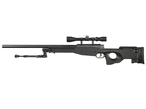 WELL MB01C / L96 Airsoft Sniper Rifle inkl. Bipod & Zielfernrohr