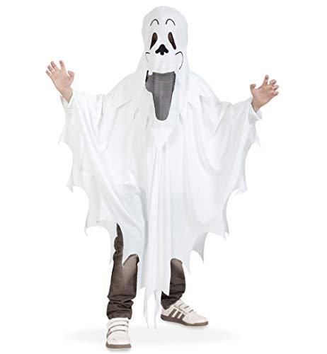 e + Haube 1558 PB Halloween Kostüm 128 Gespenst für Kinder ()