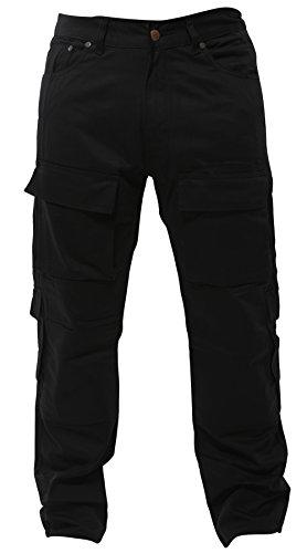 Newfacelook Herren Motorrad Hose Motorradhose Jeans Verstärkt durch Aramid Schutz Futter