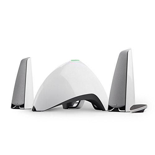 Edifier E3360BT WT Prisma Encore 2.1 Bluetooth-Lautsprecher System (64 Watt) für Fernsehen/PC/Notebook/Tablet/Smartphone weiß