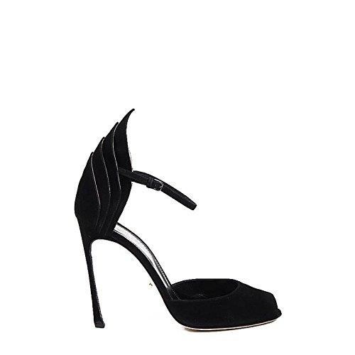 Sandali Donna Sergio Rossi A65410 - Colore - Nero, Taglia scarpa - 40