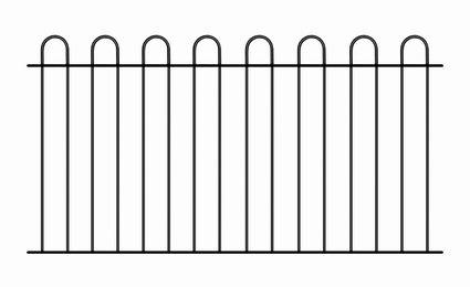court01zp-hoop-top-fence-panels-1830mm-gap-x-950mm-high-galvanized-wrought-iron-steel-metal