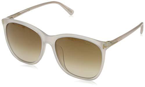 Tom Ford Damen FT0485-D 57F 58 Sonnenbrille, Weiß