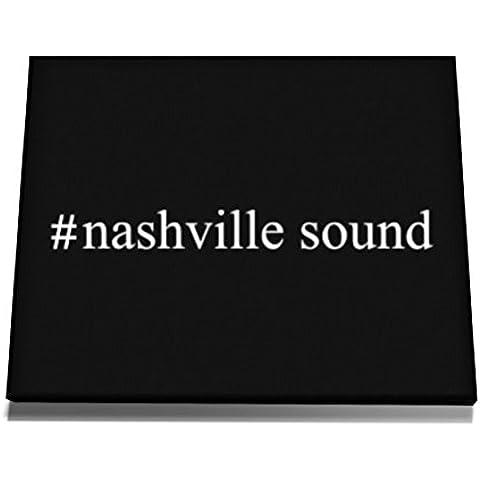 Teeburon #Nashville Sound Hashtag Tela muro arte 12 x 8 Inch